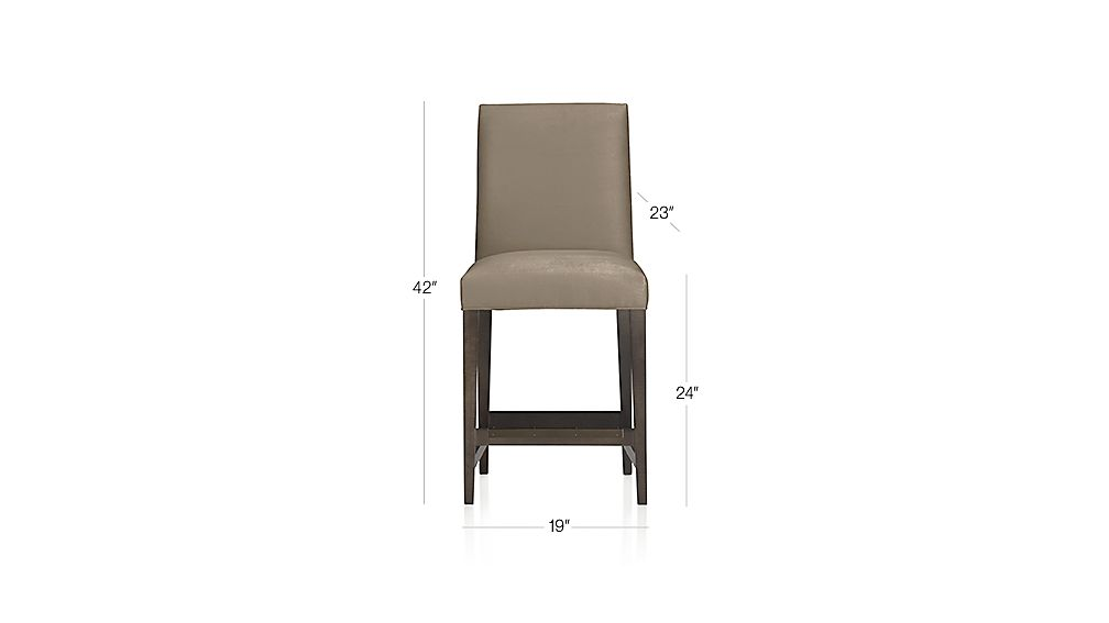 Miles Counter Stool Fennel Crate And Barrel