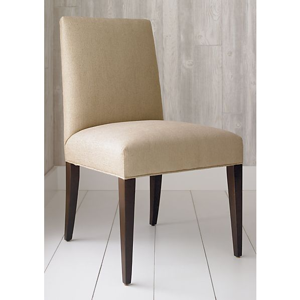 miles sasha side dining chair at crate and barrel chairs
