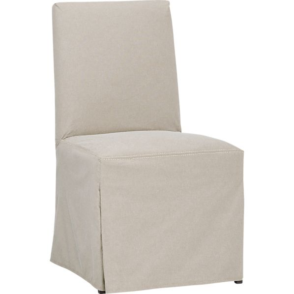 Miles Side Chair Slipcover | Crate and Barrel