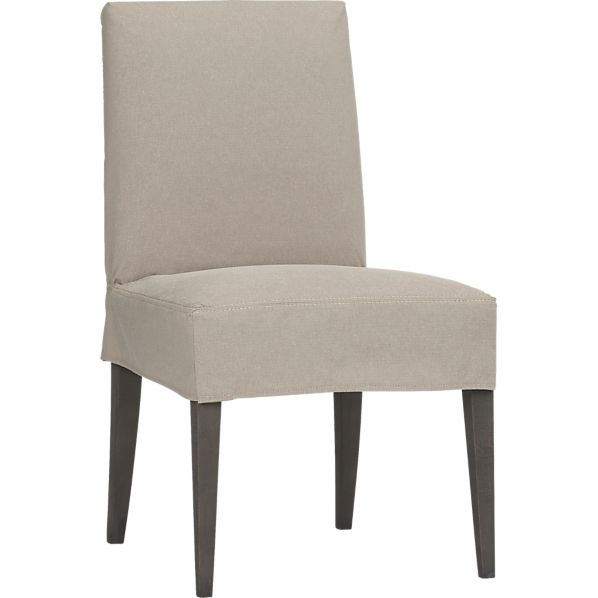 Miles Side Chair Short Slipcover Only