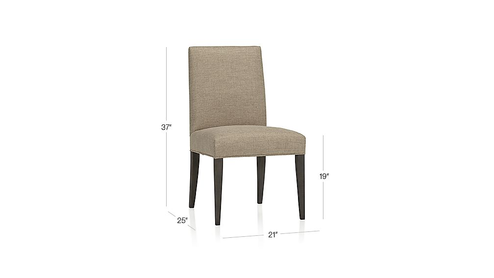 Miles Side Chair Dimensions