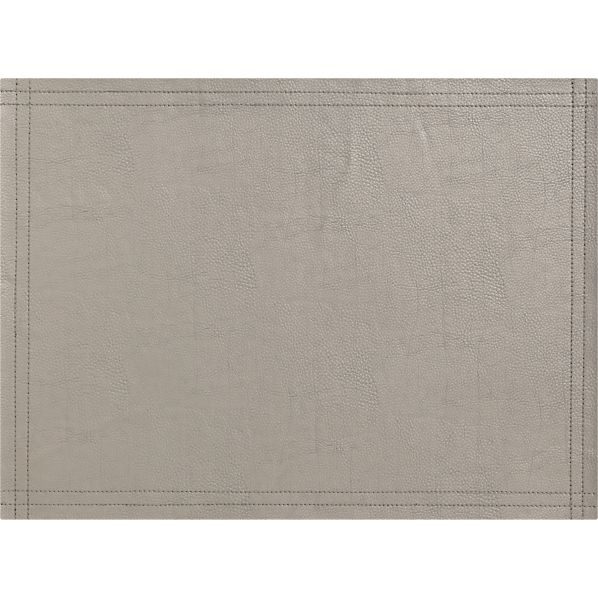 Miles Silver Placemat