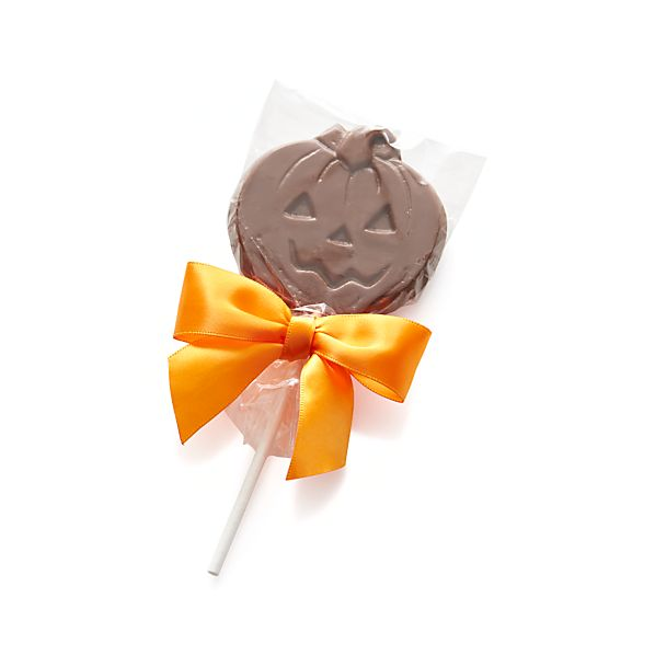 Milk Chocolate Pumpkin Lollipop