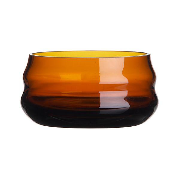 Miller Amber Bowl