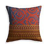 "Millie 12"" Pillow with Feather-Down Insert"