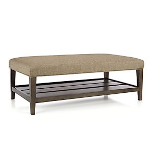 parsons rectangular coffee table with travertine top in coffee tables side tables crate and. Black Bedroom Furniture Sets. Home Design Ideas
