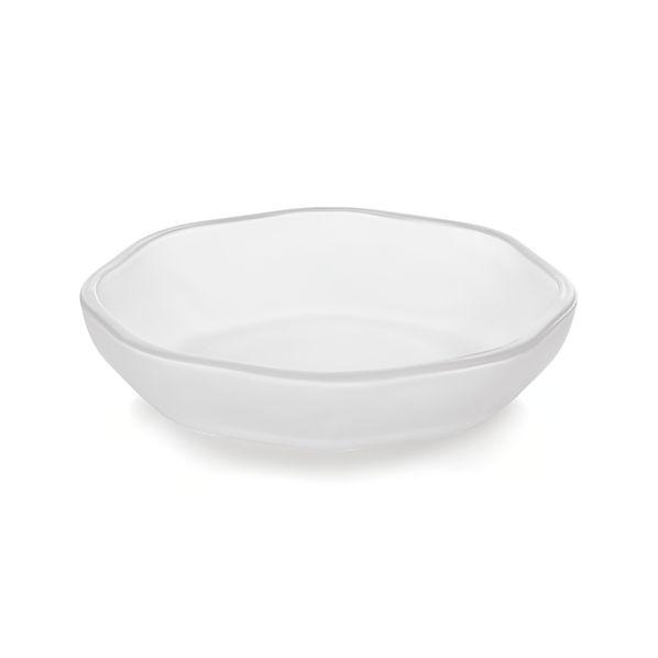 Mini Glass Octagon Bowl
