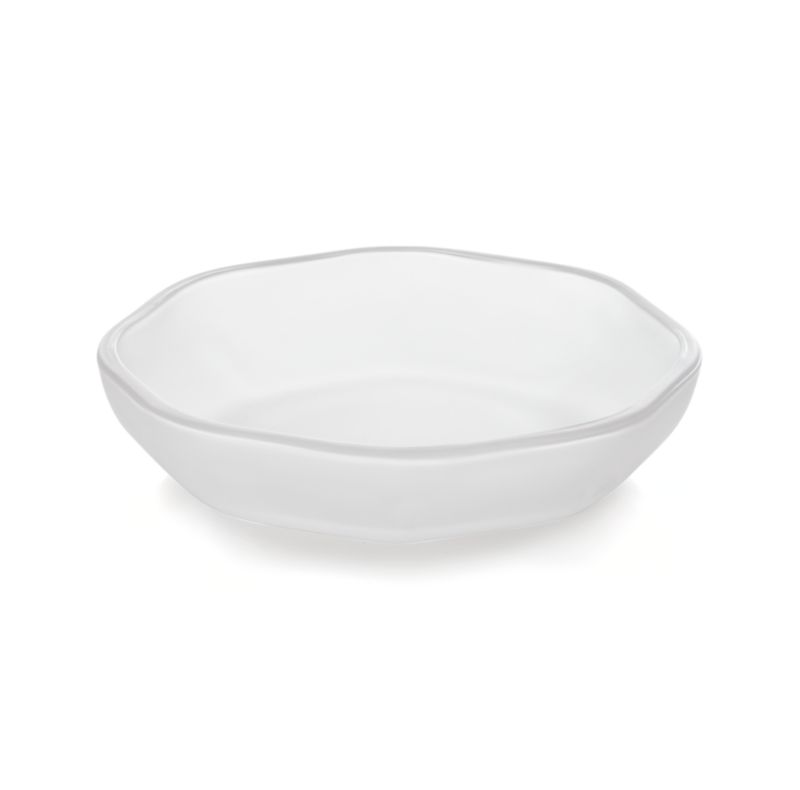 Mini bowls designed to suit your meal, décor or mood. Aaron Probyn's suite of nine small-sized bowls yields big results, offering your choice of size, shape and material for serving sauces, spices and condiments. Great for kitchen prep, too. Low bowl takes a soft octagon shape in frosted glass.<br /><br /><NEWTAG/><ul><li>Designed by Aaron Probyn</li><li>100% soda lime glass</li><li>Dishwasher-safe</li><li>Do not microwave or heat in oven</li><li>Made in China</li></ul>