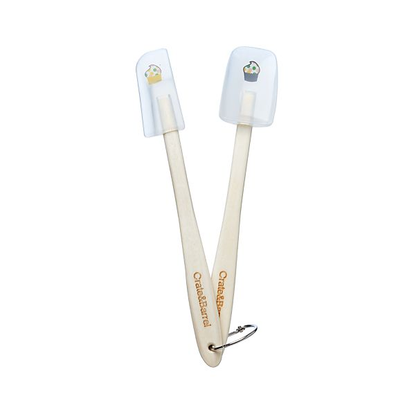 2-Piece Mini Cupcake Spatula Set