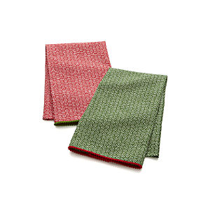 Set of 2 Mini Flurries Dish Towels