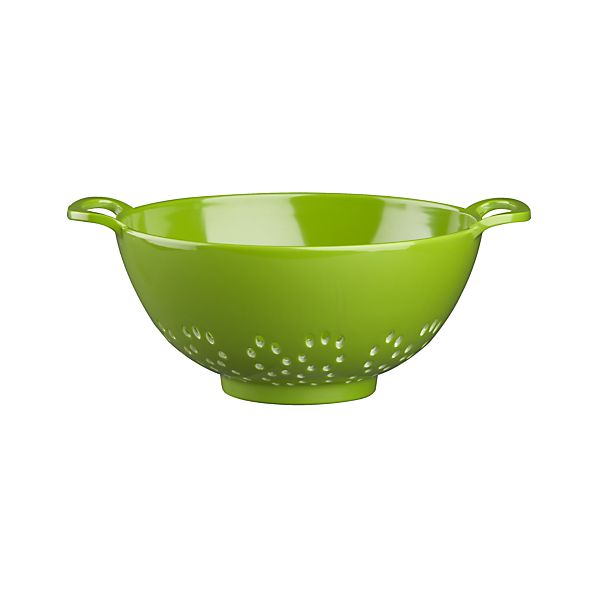Mini Green Melamine Colander