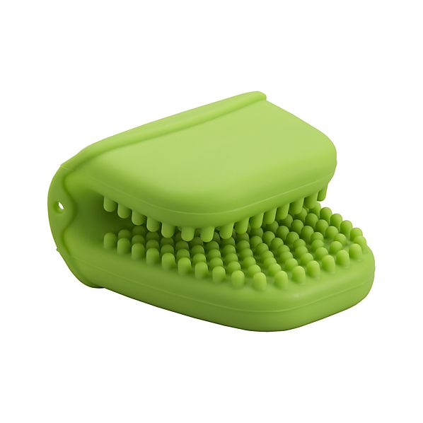 Silicone Green Mini Oven Mitt