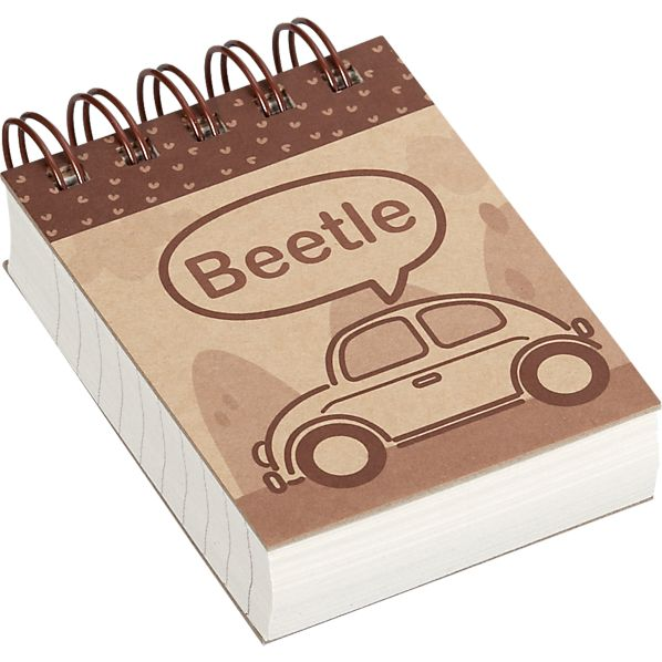 Beetle Mini Notebook