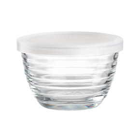 Mini Ribbed Bowl with Lid