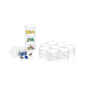Set of 12 Mini Round Bins