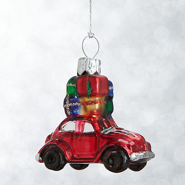 Mini Shapes Car Ornament