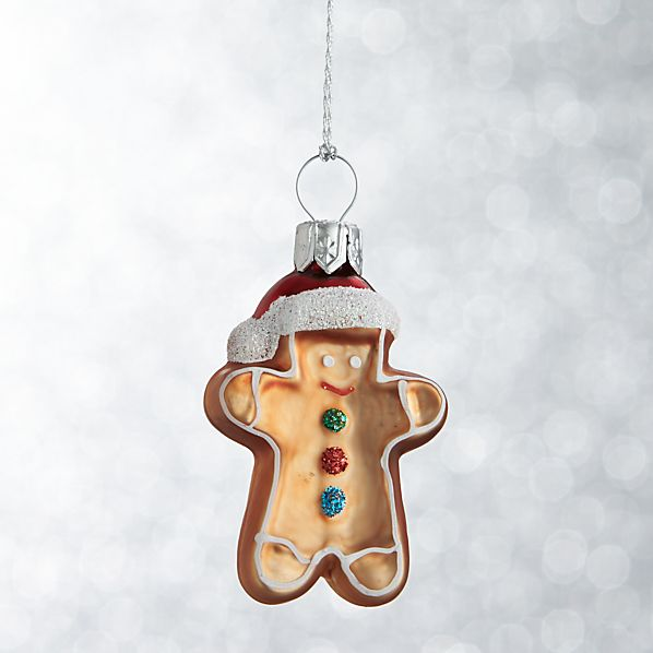 Mini Shapes Gingerbread Man Ornament