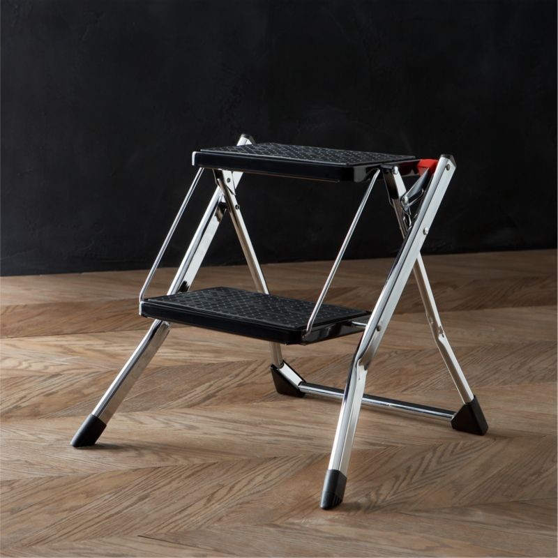 Polder ® Chrome Mini Step Stool