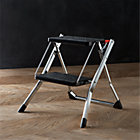 Polder® Chrome Mini Step Stool.