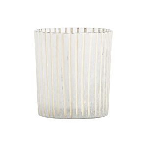 Minx Striped Candleholder