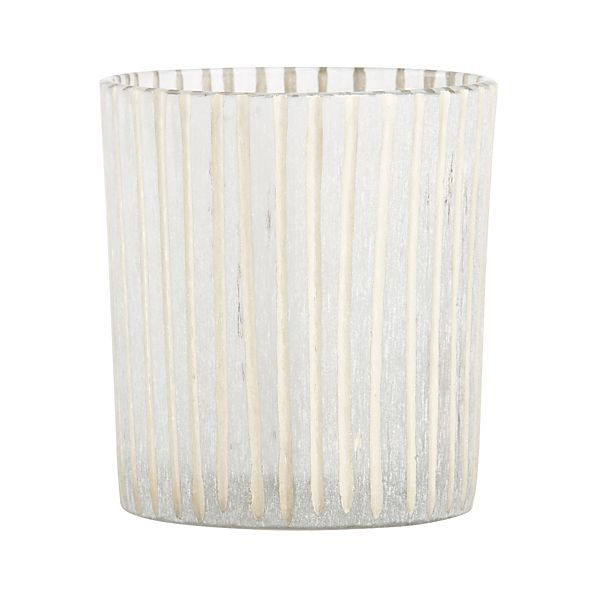 Minx Striped Candle Holder
