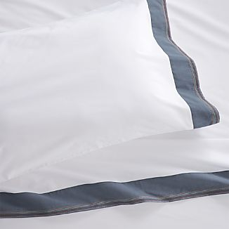 Miri Blue Twin Sheet Set