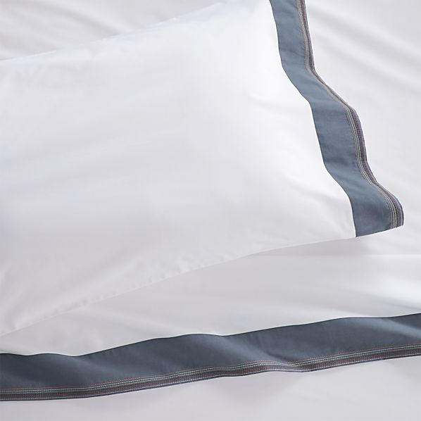 Miri Blue Extra-Long Twin Sheet Set