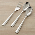 Miro 3-Piece Serving Set: serving fork, pierced serving spoon and serving spoon.