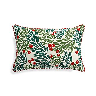 Mistletoe 20x13 Pillow  with Down-Alternative Insert