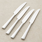 Set of four Mix dinner knives.