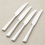 Set of 4 Mix Dinner Knives