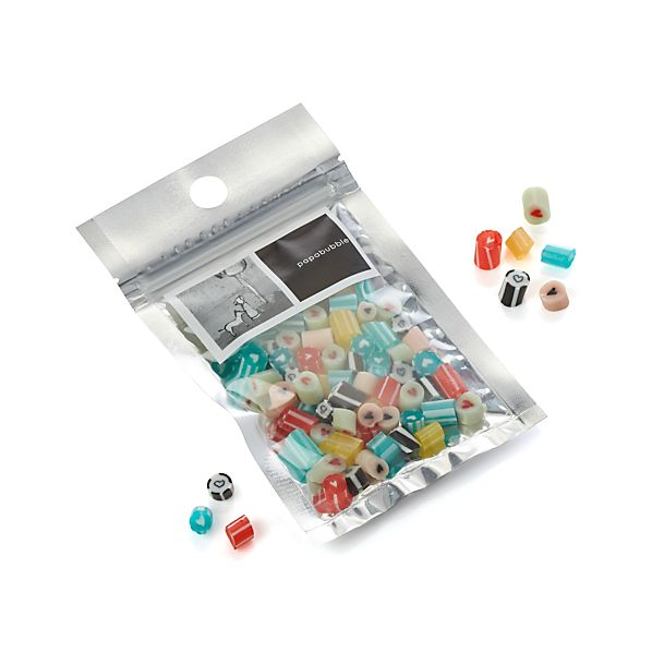 Papabubble Mixed Heart Hard Candy Bag