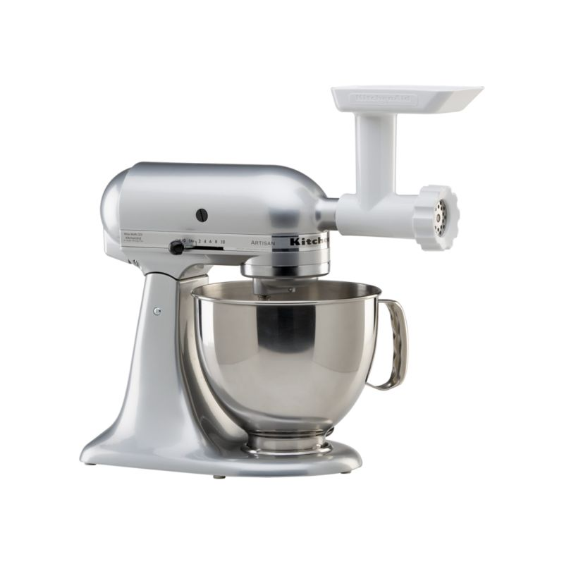 Kitchenaid stand mixer food grinder attachment crate and barrel - Kitchenaid meat mincer ...