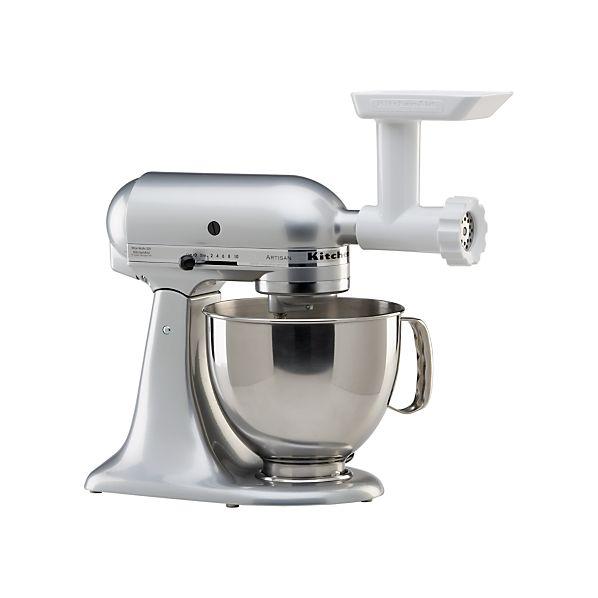 Kitchen Aid Meat Grinder Attachment: KitchenAid ® Stand Mixer Food Grinder Attachment