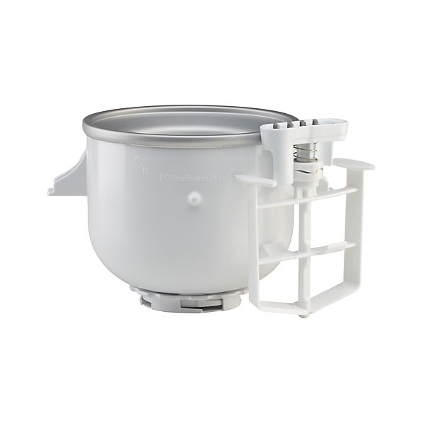 Kitchenaid stand mixer ice cream maker attachment crate and barrel - Gelato kitchenaid ...
