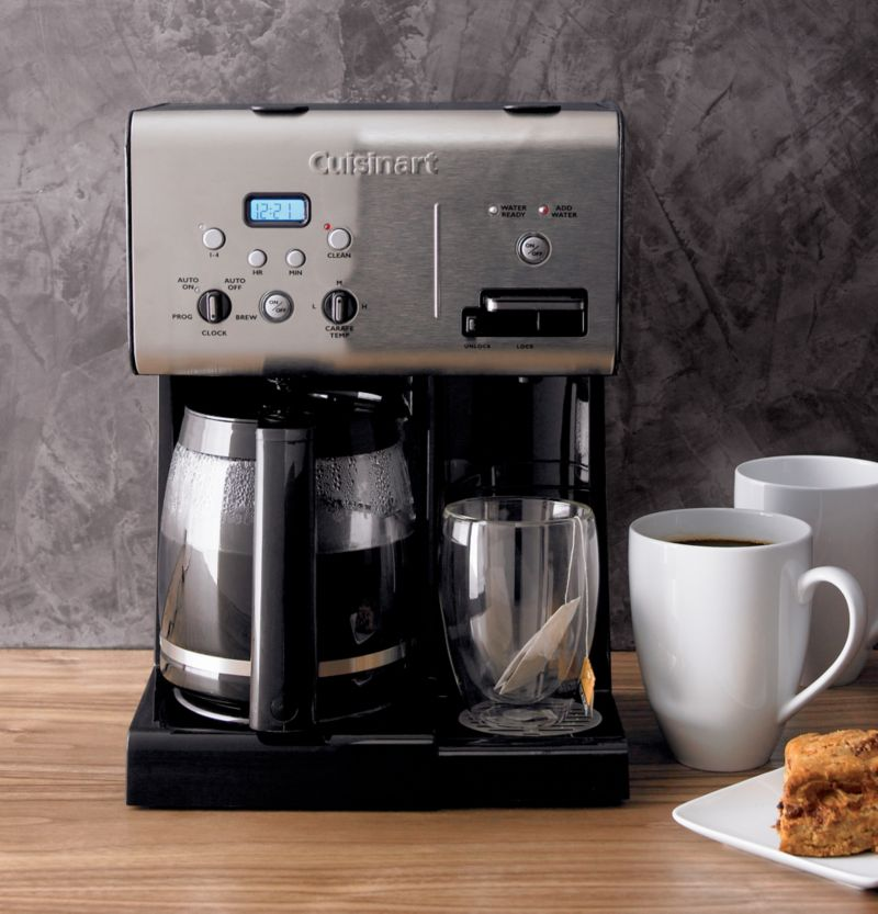 Coffee Maker With Hot Water On Demand : Cuisinart Programmable 12 Cup Coffee Maker with Hot Water System Crate and Barrel