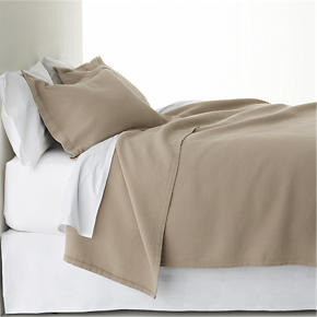 Mocha Bed Linens
