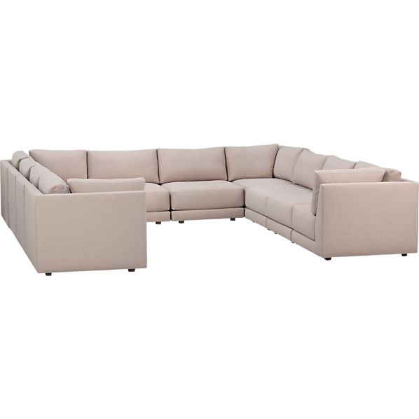 Moda 10-Piece Sectional Sofa