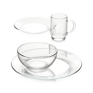 Moderno Glass Dinnerware