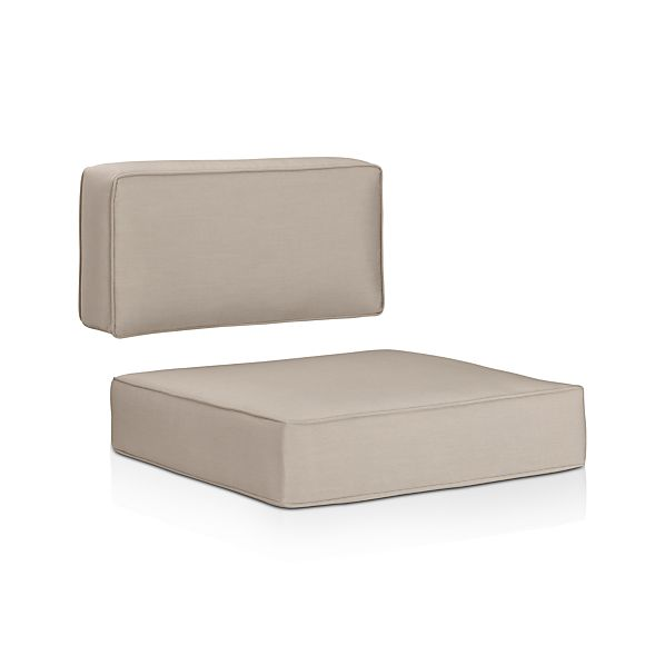 Sunbrella® Stone Modular/Lounge Chair Cushions