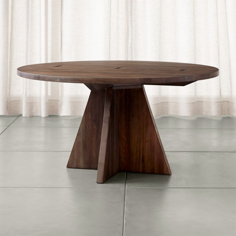 x Base Round Dining Table images : Monarch60RndTableSHS151x1 from pix-hd.com size 800 x 800 jpeg 45kB