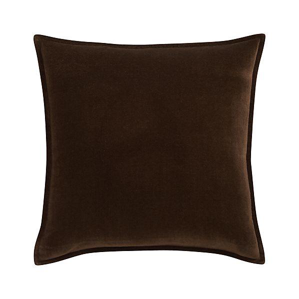 """Monroe Espresso 18"""" Pillow"""