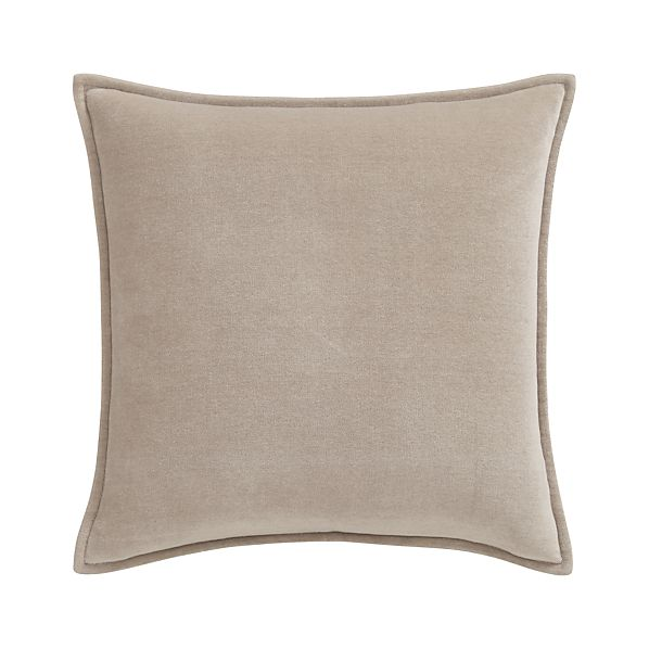 "Monroe Greige 18"" Pillow"