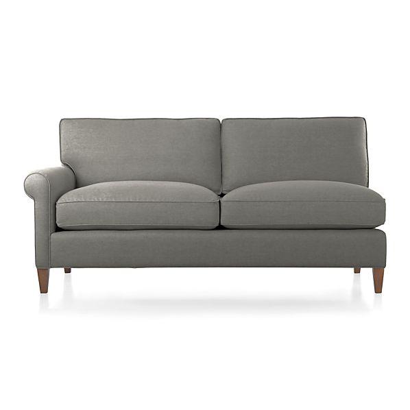 Montclair Left Arm Sectional Apartment Sofa