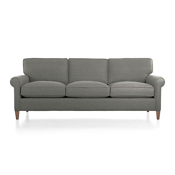 Montclair 3 Seat Sofa Crate And Barrel