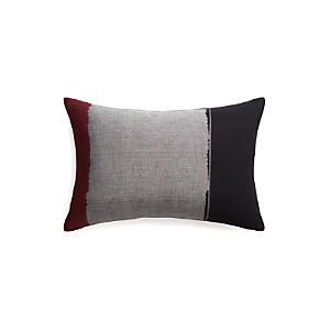 "Montez 24""x16"" Pillow with Down-Alternative Insert"