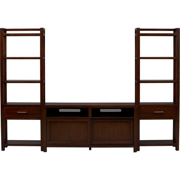 "Tyler 60"" Media Console with Two Media Towers"