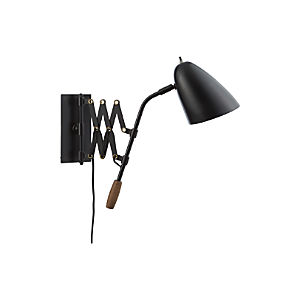 Morgan Black Sconce