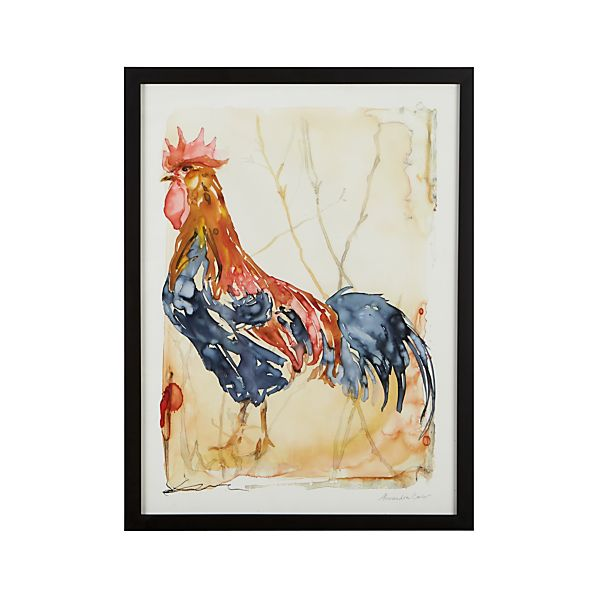 Morning Rooster Print