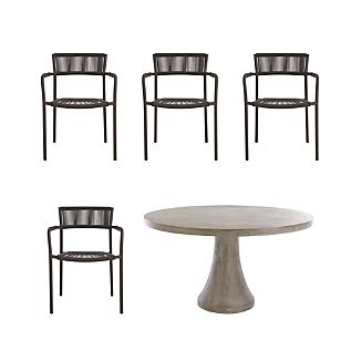 Morocco 5-Piece Dining Set